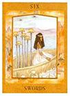 goddess - Six of Swords