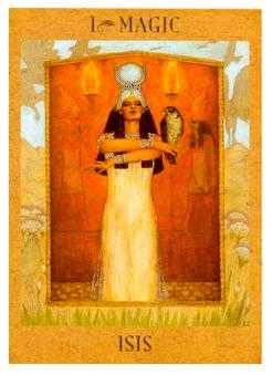 The Magician Tarot Card - Goddess Tarot Deck