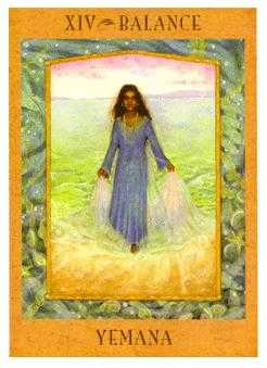 Temperance Tarot Card - Goddess Tarot Deck