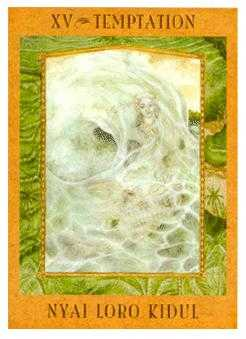 Temptation Tarot Card - Goddess Tarot Deck