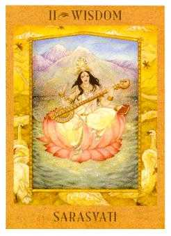 The Popess Tarot Card - Goddess Tarot Deck