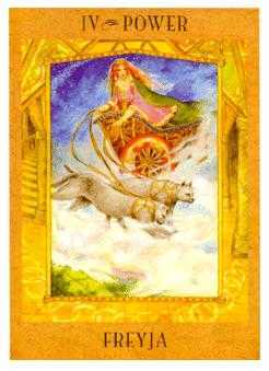 The Emperor Tarot Card - Goddess Tarot Deck