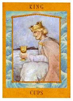 King of Cauldrons Tarot Card - Goddess Tarot Deck