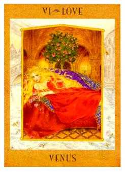 The Lovers Tarot Card - Goddess Tarot Deck