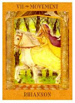 The Chariot Tarot Card - Goddess Tarot Deck