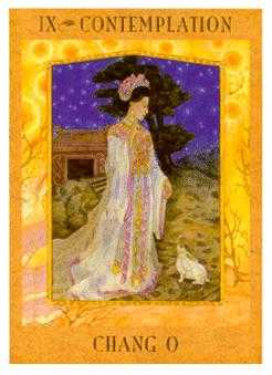 The Hermit Tarot Card - Goddess Tarot Deck