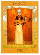 The Magician Tarot card in Goddess Tarot deck