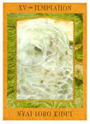 The Devil Tarot card in Goddess Tarot deck
