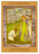 Judgement Tarot card in Goddess Tarot deck