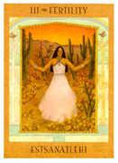 The Empress Tarot card in Goddess deck
