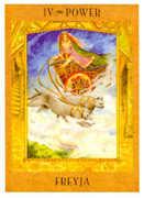 The Emperor Tarot card in Goddess Tarot deck