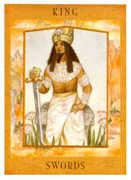 King of Swords Tarot card in Goddess Tarot deck
