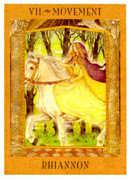 The Chariot Tarot card in Goddess Tarot deck