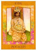 King of Pentacles Tarot card in Goddess Tarot deck