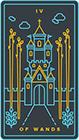 golden-thread - Four of Wands