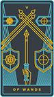 golden-thread - Five of Wands