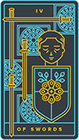 golden-thread - Four of Swords
