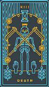 Death Tarot card in Golden Thread Tarot deck