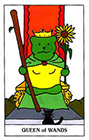 gummybear - Queen of Wands