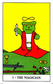 The Magician Tarot Card - Gummy Bear Tarot Deck