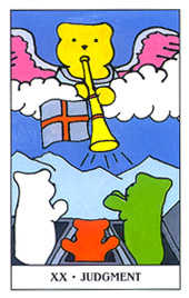 Judgment Tarot Card - Gummy Bear Tarot Deck