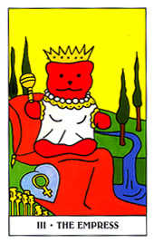 The Empress Tarot Card - Gummy Bear Tarot Deck