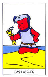 Apprentice of Bowls Tarot Card - Gummy Bear Tarot Deck
