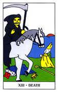 Death Tarot card in Gummy Bear Tarot deck