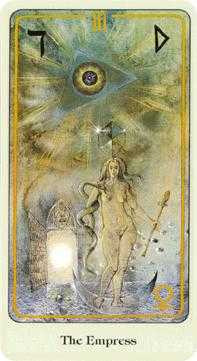The Empress Tarot Card - Haindl Tarot Deck