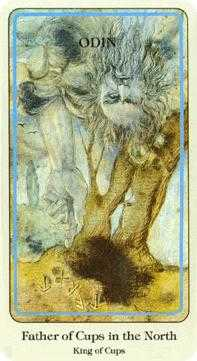 King of Cups Tarot Card - Haindl Tarot Deck