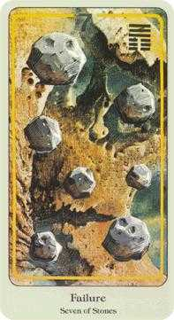 Seven of Pumpkins Tarot Card - Haindl Tarot Deck