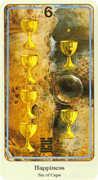 Six of Cups Tarot card in Haindl Tarot deck