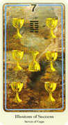 Seven of Cups Tarot card in Haindl deck