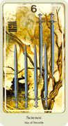 Six of Swords Tarot card in Haindl deck