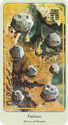 Seven of Coins Tarot card in Haindl deck