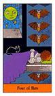 halloween - Four of Bats