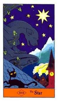The Star Tarot Card - Halloween Tarot Deck