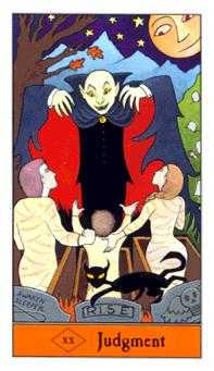 The Judgment Tarot Card - Halloween Tarot Deck