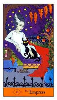 The Empress Tarot Card - Halloween Tarot Deck