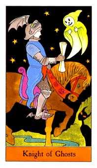 Knight of Hearts Tarot Card - Halloween Tarot Deck