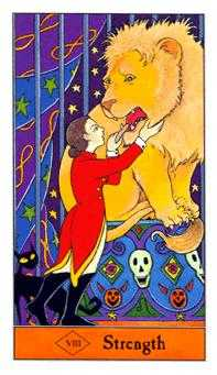 Fortitude Tarot Card - Halloween Tarot Deck