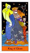 King of Ghosts Tarot card in Halloween Tarot deck