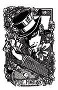 The Magician Tarot card in Heart & Hands deck