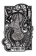 The Hanged Man Tarot card in Heart & Hands deck
