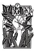 Seven of Wands Tarot card in Heart & Hands deck