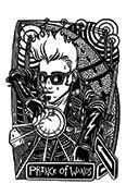 Knight of Wands Tarot card in Heart & Hands deck
