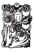 Seven of Cups Tarot card in Heart & Hands deck