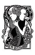 The Lovers Tarot card in Heart & Hands deck