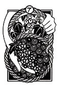 Seven of Pentacles Tarot card in Heart & Hands deck