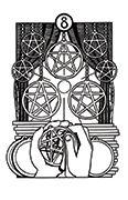 Eight of Pentacles Tarot card in Heart & Hands deck